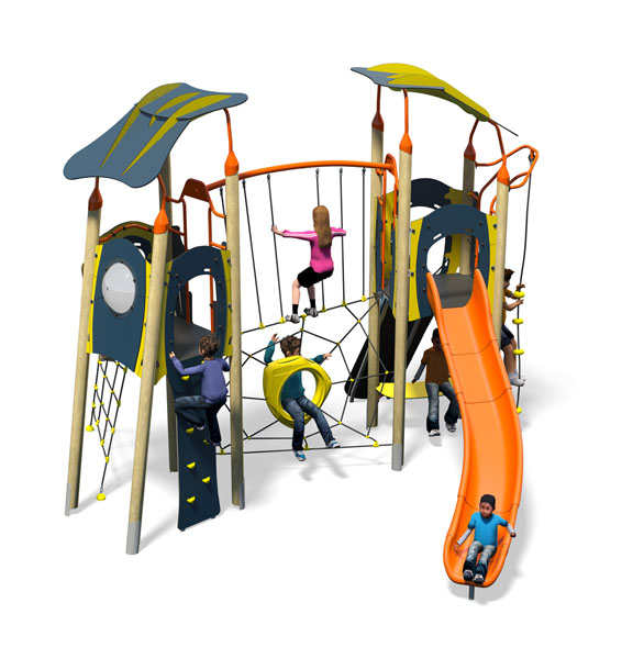 Twist Plus-Blue Yellow-Inc Roofs-In Kids-Plastic Slide.jpg