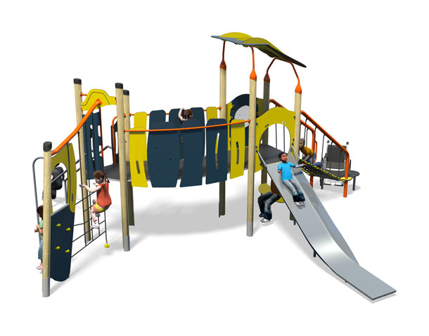 Rumba Plus-Blue Yellow-Inc Roof-Inc Kids-Steel Slide.jpg