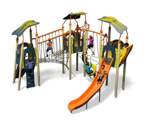 Boogie Woogie Plus-Blue Yellow-Inc Roofs-Inc Kids-Plastic Slide.jpg