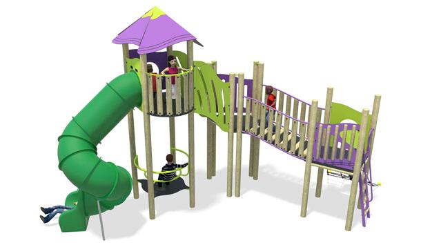 high volume 3-plastic slide-purple & lime.jpg