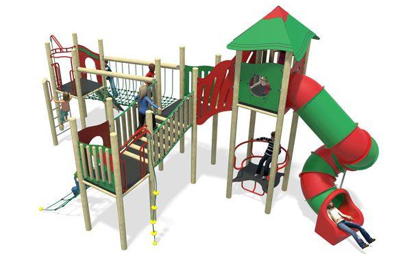 high volume 4-plastic slide-red & green.jpg