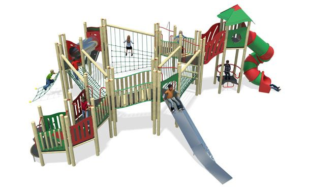 high volume 6-plastic slide-red & green.jpg