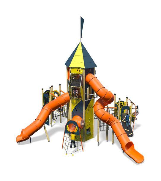 Everest Plus-Blue Yellow-Inc Kids-Plastic Slide.jpg