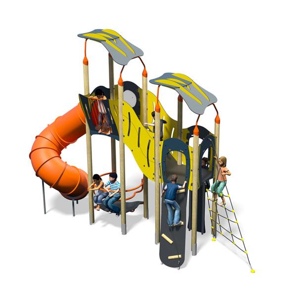 Nimble Plus-Blue Yellow-Inc Roof-Inc Kids-Plastic Slide.jpg