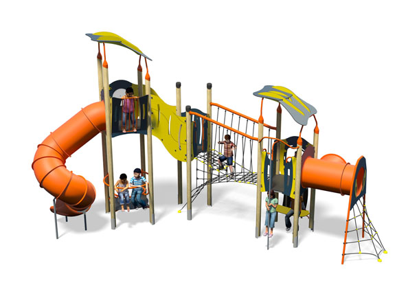 Presto Plus-Blue Yellow-Inc Roof-Inc Kids-Plastic Slide.jpg