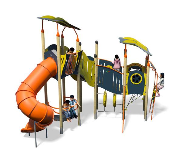Brisk Plus-Blue Yellow-Inc Roof-Inc Kids-Plastic Slide.jpg